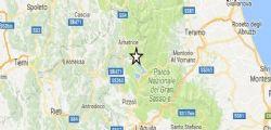 Terremoto Oggi : Scossa Amatrice magnitudo 3.9, nuovo sciame sismico nella notte
