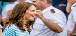 Incidente sexy di Kate Middleton : finalmente si vede il lato B