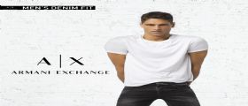 Armani Exchange Denim collection 2017-2018 con Fabio Mancini protagonista
