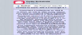 Pangu Jailbreak iOS 8/8.1 : Rilasciata anche una nuova versione del Cydia Substrate