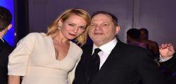 Uma Thurman contro Weinstein : Buon Ringraziamento ... tranne a te!