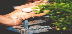 Justine Mattera in topless su Instagram