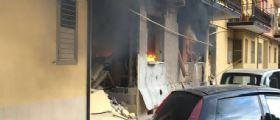 Montoro : Esplosione in un palazzo per una fuga di gas