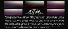 La cometa Siding Spring ripresa dall