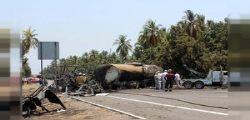 Scontro fra un autobus e un camion in Messico : 24 morti
