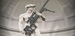 Illinois Arma Lite : Negli USA armano anche il David di Michelangelo
