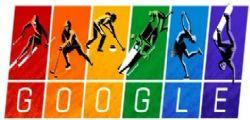 Google : Il doodle arcobaleno per i Giochi Olimpici Invernali