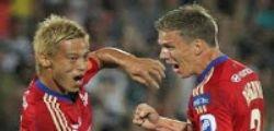 Keisuke Honda è del Milan : lo annuncia l