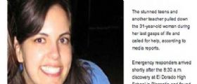 California : Studenti arrivano a scuola e trovano la loro prof Jillian Jacobson impiccata in classe
