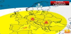 Meteo Luglio 2017 : La tregua al caldo sta per finire
