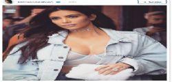 Kim Kardashian semi topless su Istagram