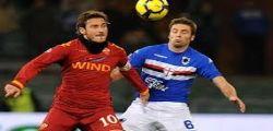 Roma Sampdoria Streaming Live Diretta Partita e Online Gratis Serie A