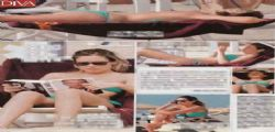 Maria Elena Boschi : bikini sexy a Marina di Pietrasanta