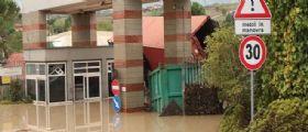 Strade allagate a Benevento: Esondati i fiumi Fortore e Tammaro