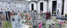 Cimitero Rovigo : cede il pavimento e precipita tra le tombe