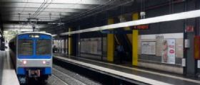 Incendio ai cavi elettrici Metro B Roma : Interrotto il servizio tra Piramide e Laurentina