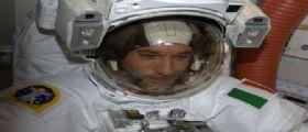 Luca Parmitano : il primo italiano a spasso nel vuoto spaziale