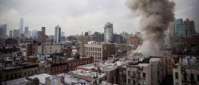 New York, esplosione nell