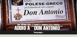 Morto Don Antonio Polese  : Al Bano omaggia il Boss delle cerimonie