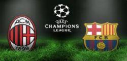 Milan-Barcellona Diretta tv Streaming e Online Gratis Champions League