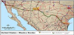 Confine Messico Stati Uniti : l