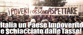 Istat : Italiani sempre più poveri e schiacciati dalle tasse
