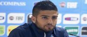 Napoli : Il calciatore Lorenzo Insigne vittima di una rapina a mano armata in centro