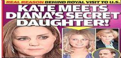 Lady Diana ha una figlia segreta nata prima del principe William?