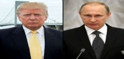 Donald Trump e Vlaumir Putin insieme contro l