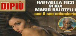 Raffaella Fico Calendario 2014 For Men Magazine davvero hot