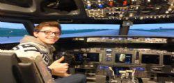 Vittorio Lupi : A 20 anni pilota un Boeing 737 Ryanair