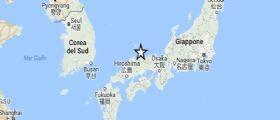 Terremoto in Giappone: Due forti scosse di magnitudo 6.6 questa mattina