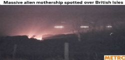 Avvistata una nave aliena Ufo : Gli smartphone si spengono se si scatta una foto