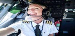 Maria Pettersson : la bellissima pilotessa star di instagram