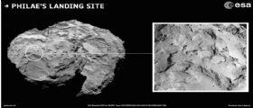 Selezionato il sito di atterraggio per Philae