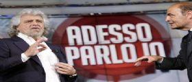 Beppe Grillo torna in Rai da Vespa :Europee voto politico, o noi o loro!