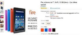 Kindle Fire a 1 euro : ecco il comunicato ufficiale di Amazon