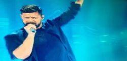 Sanremo 2017 : Ricky Martin sul palco dell