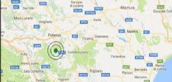 Terremoto Oggi : scossa di magnitudo 3.8 in provincia di Potenza