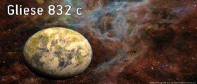 Pianeta extrasolare Gliese 832C: una super-Terra vicina che potrebbe supportare la vita
