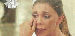 Belen Rodriguez in lacrime con il figlio Santiago!
