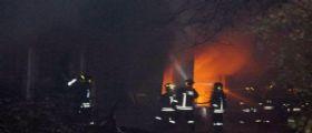 Roma, baracca fatiscente va a fuoco: Trovato il corpo carbonizzato di un uomo