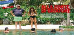 Beppe Grillo in vacanza in Kenya da Flavio Briatore