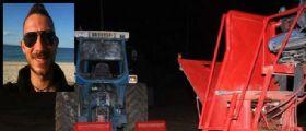 Chiaravalle, corsa con il trattore: il 28enne Flavio Giaccaglia precipita mentre filma e perde la vita