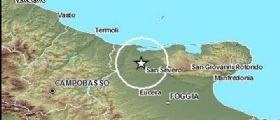 Terremoto Puglia : Scossa con epicentro tra San Severo e Apricena nel Gargano