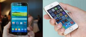 iPhone 5S Vs Galaxy S5 a confronto
