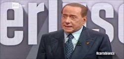 Referendum : Silvio Berlusconi intervistato da Bianca Berlinguer