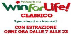 Win For Life Classico Ultima Estrazione Oggi Mercoledì 16 Luglio 2014
