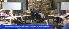 Stephen Hawking, i buchi neri e... l