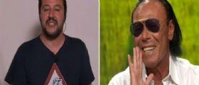 Video Ballarò, Antonello Venditti a Matteo Salvini : Io lavoro per vivere, tu che fai?